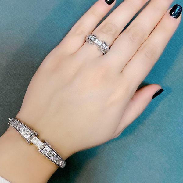 دستبند انگشتر ست