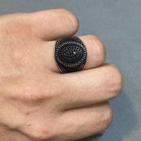 انگشتر مردانه نقره عیار 925